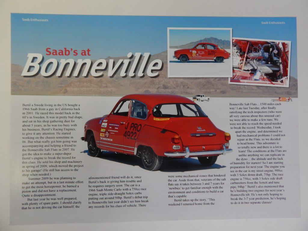 Bertil 1966 Monte Carlo Saab