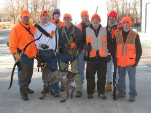 The Pheasant hunters! (yes we use a bow and arrow to hunt birds too!)