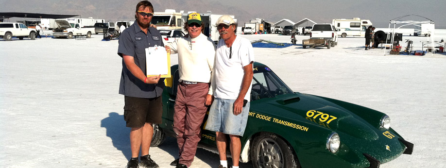 Bonneville Salt Flats - 2011 World Record Speed Set!