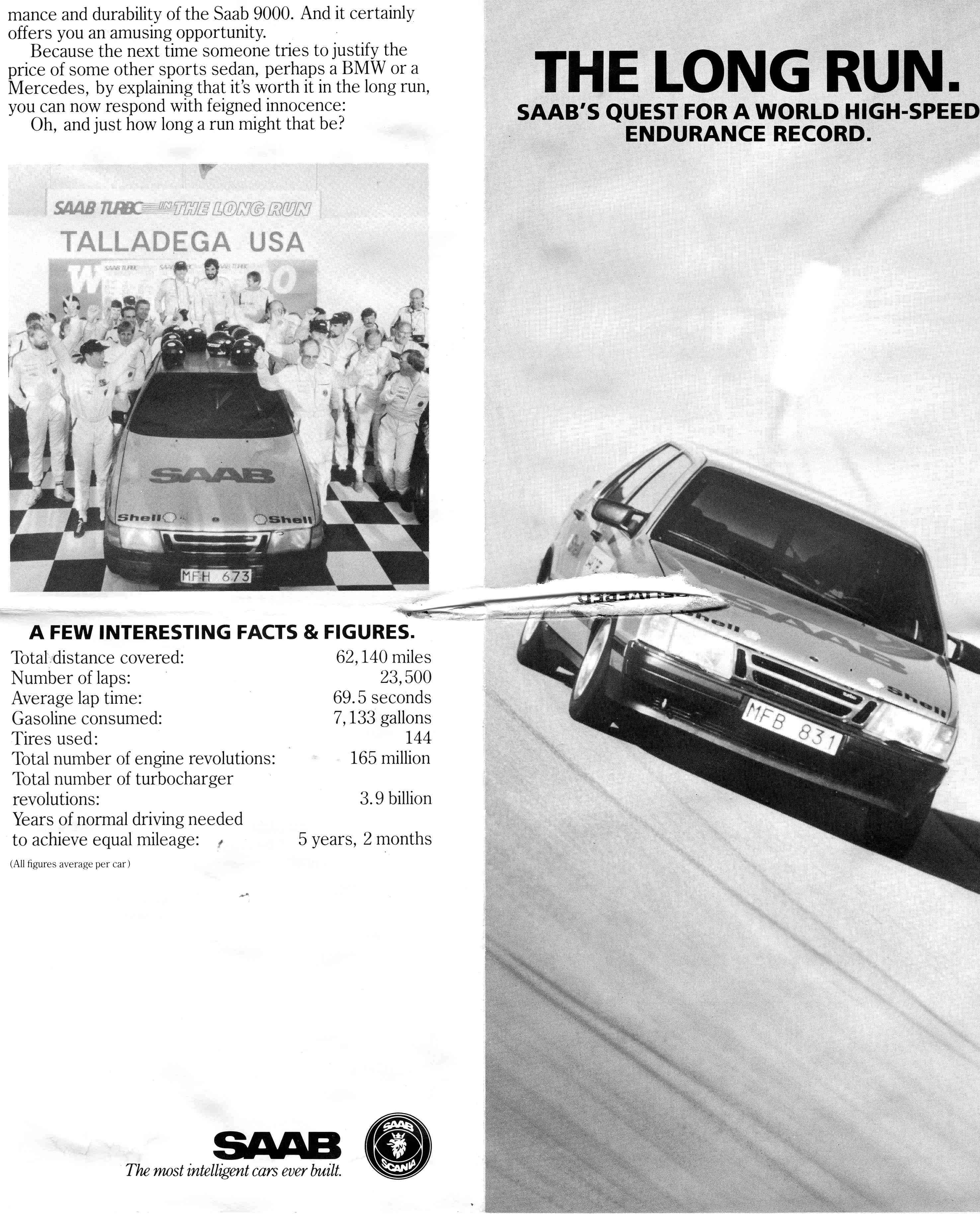 1987 Saab 9000 Taladega Challenge (Now at Tom Donney Motors