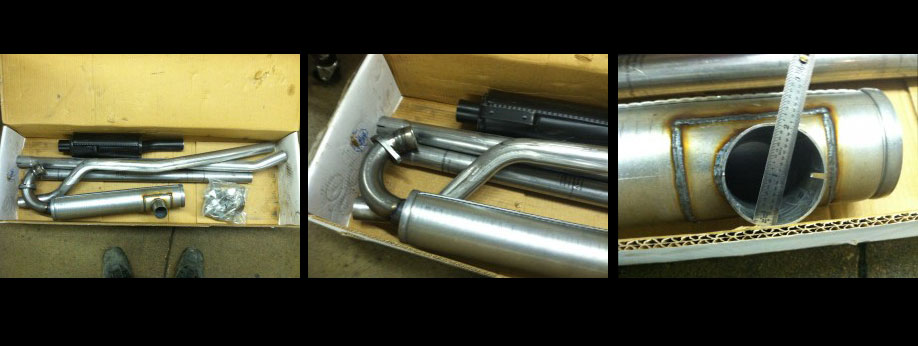 Now carrying! Skandix Sport Exhaust System for the two stroke Saab.