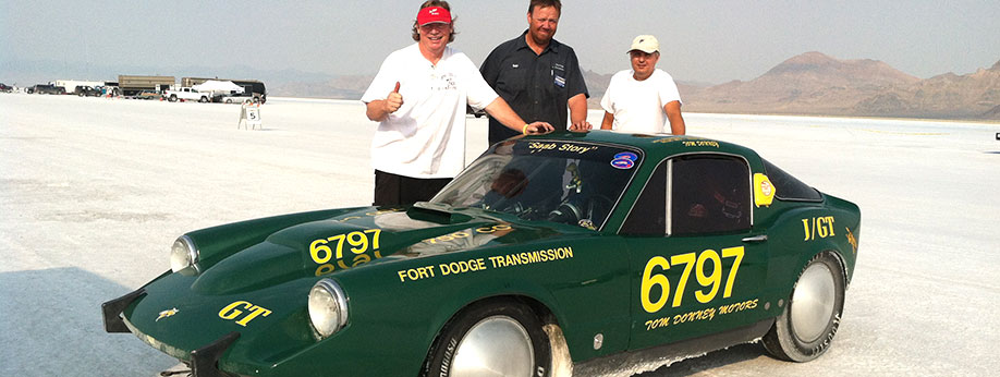 Bonneville Salt Flats - 2012 World Record Speed Set!