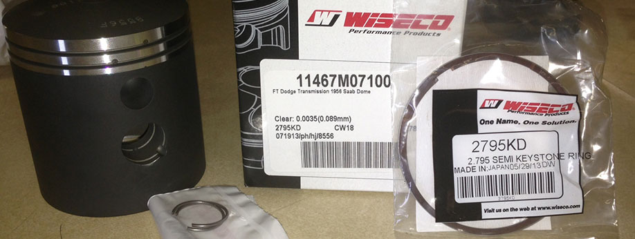 Now in Stock Wiseco Pistons